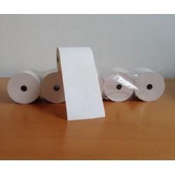 Carta termica 80mm X 80mt per registratori fiscali - Confezione da 5 pz