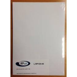 Fogli in plastica f.to A4 120 µ per laser