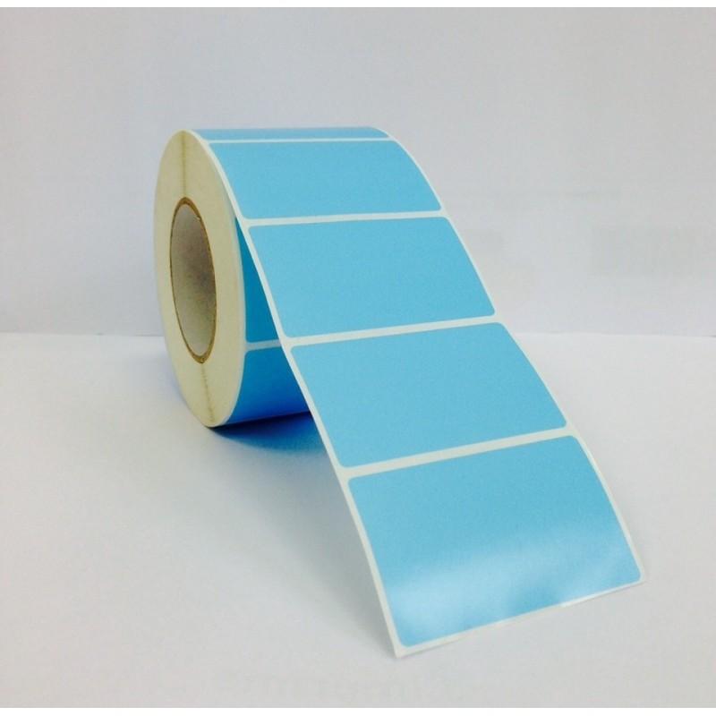 Etichette adesive 64x38 mm a una pista in rotoli da 1.000 pz.