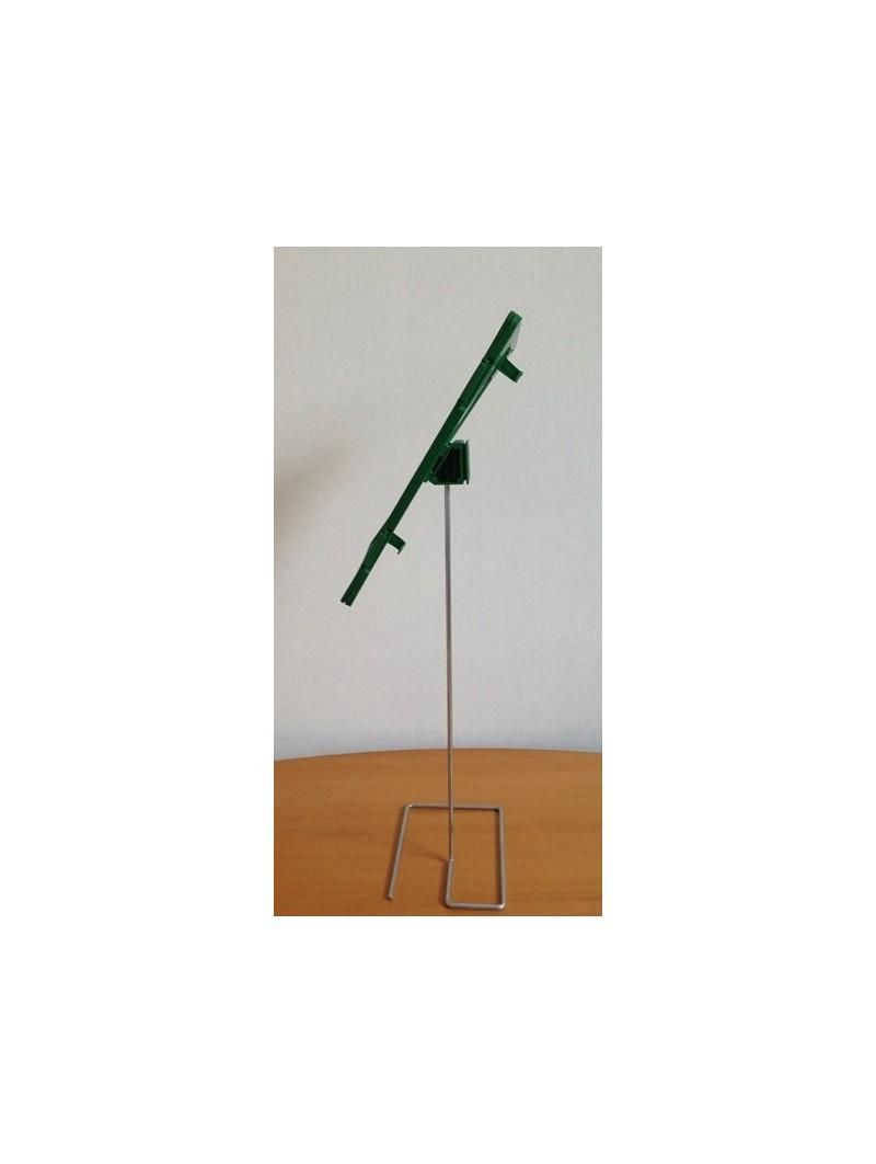 Espositore inclinato f.to A4 verde